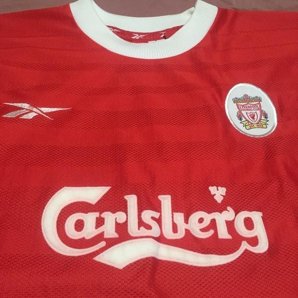 low priced f5473 65587 Reebok Liverpool FC Jersey (vintage)